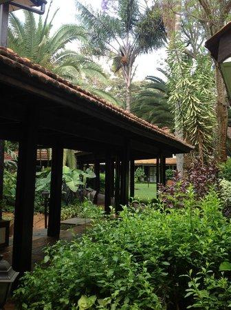 Southern Sun Mayfair Nairobi : jardin
