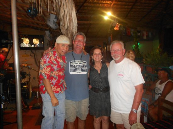 Tailhunter Restaurant: With owners Jonathan and Jill Roldan