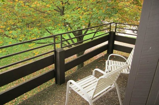 Wilson Lodge at Oglebay Resort & Conference Center : The Balcony