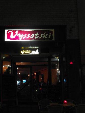 Cafe Vyssotski