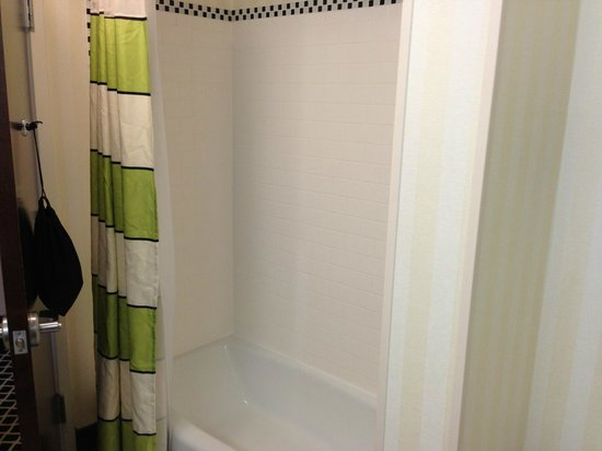 Fairfield Inn & Suites Elkin Jonesville: shower