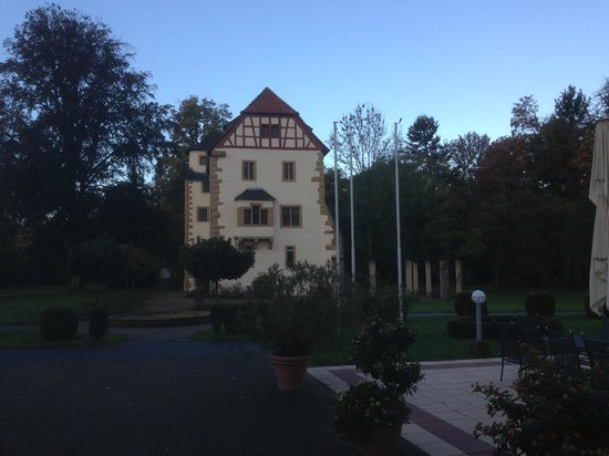 Schloss Neckarbischofsheim: View from the dining room