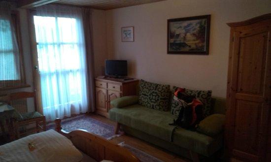 Wander- und Aktivhotel Adam-Bräu: Zweites Zimmer, hell, sauber, besser erhalten