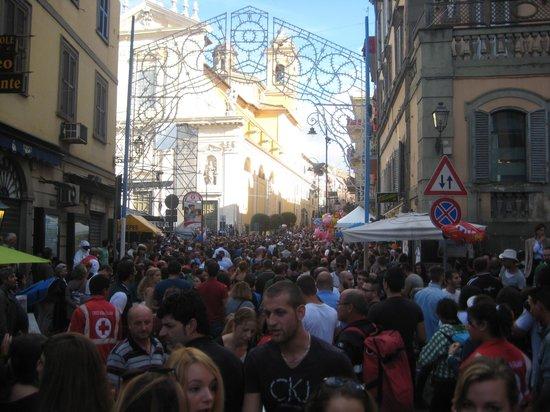 Villa Savoia: festivities