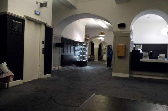 The Portpatrick Hotel: Reception area