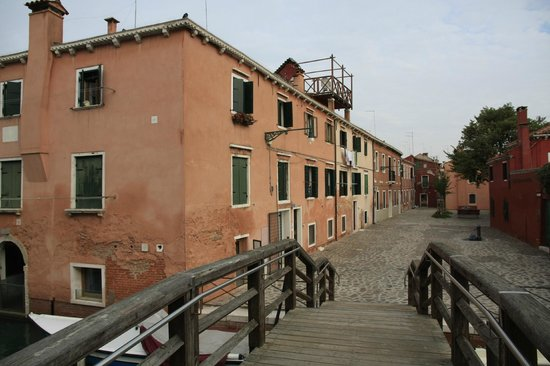 Hotel Giudecca Venezia: view at the hotel Domina home