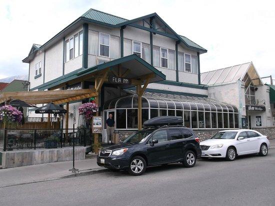 Filia Inn: View from across the street