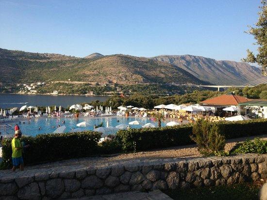 Valamar Club Dubrovnik : På väg till poolen