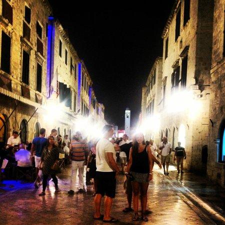 Valamar Club Dubrovnik : I gamla stan ca. 04.00