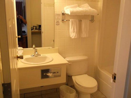 Filia Inn: Bathroom in room 3