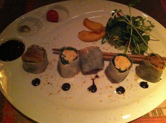 Restaurant Thierry Saveurs et Cuisine : California rolls de thon et crabe