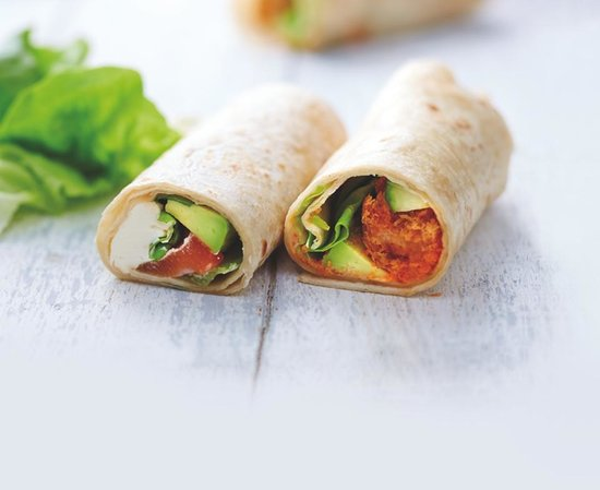EAT SUSHI ARENES : Le Wrap'Jap Au saumon ou à la crevette tempura. Un Wrap made in Japan