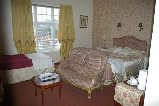 The Station Hotel : Our room (No. 20)