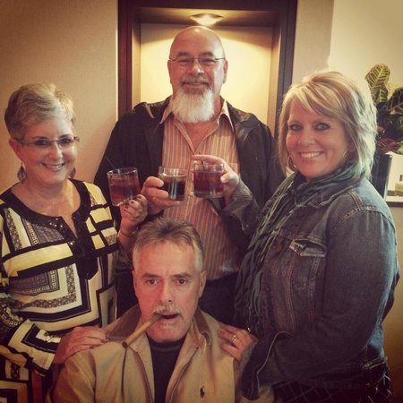 Crowne Plaza Memphis Downtown: Toasting to my Husband's 50th Birthday!