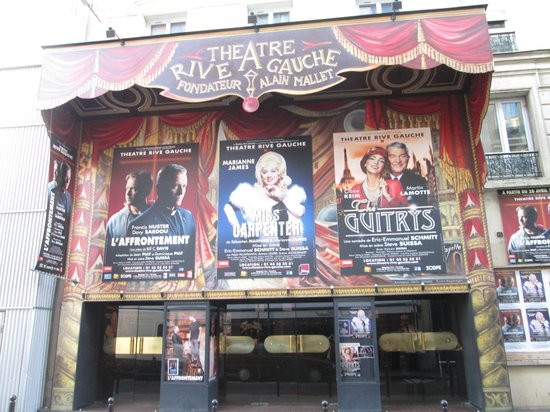 Timhotel Tour Montparnasse : Theatre in the street