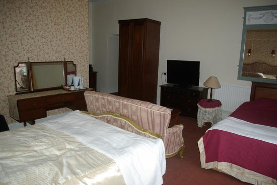 The Station Hotel: Our room