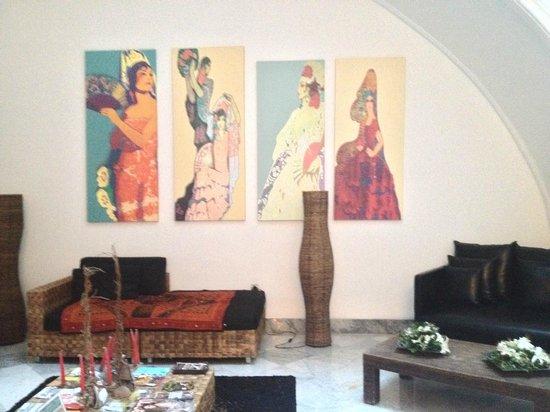 Palacio Garvey Hotel: Empfangsbereich