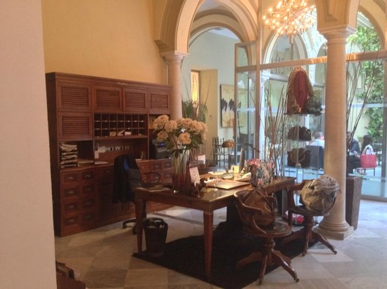 Palacio Garvey Hotel: Rezeption