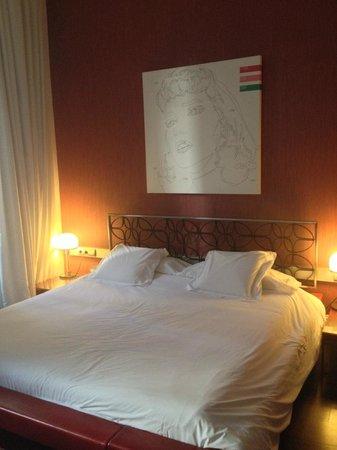 Palacio Garvey Hotel: Bett
