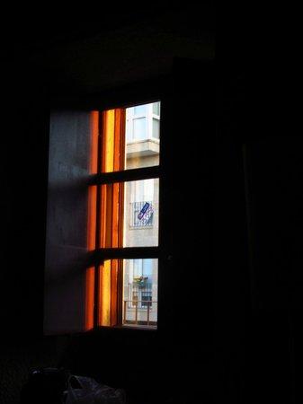 Torre Lombarda: Atardecer desde la habitación