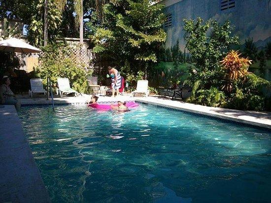 Rose Lane Villas: great pool area