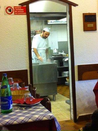 Nostromo : cucina a vista per apprezzare il modo di cucinare