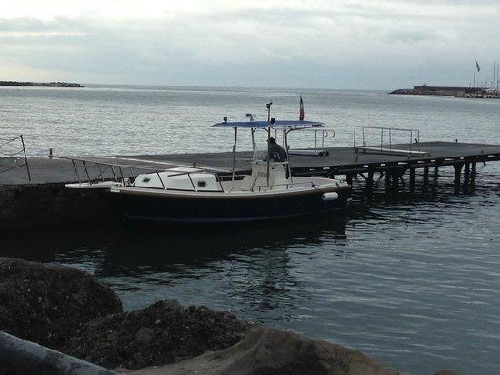 Portofino Taxi Boat: The Boat