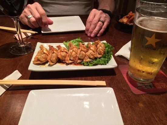 Monstera: Pork & cabbage gyoza
