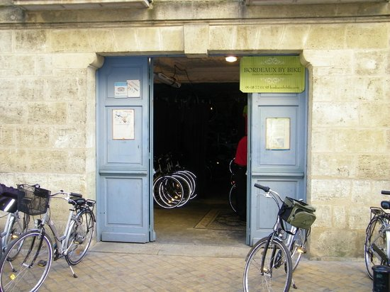 Bordeaux by Bike : het beginpunt