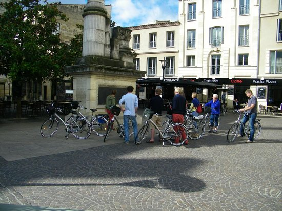 Bordeaux by Bike : een tussenstop