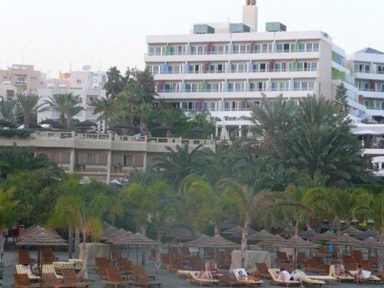 Mediterranean Beach Hotel : from the beach