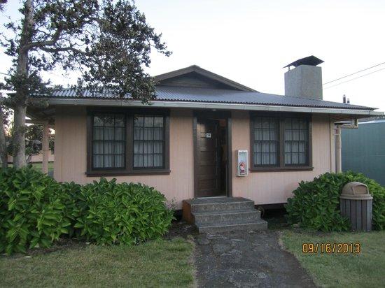 Kilauea Volcano Military Camp: Cottage No. 24 at KMC