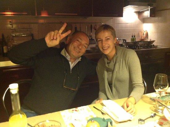 Villa Sensi : Paolo & Liize - wonderful hosts