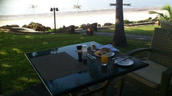 Severin Sea Lodge: lekker ontbijten met een super uitzicht