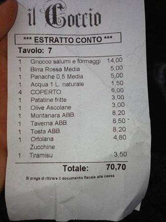 Brugherio, Italy: peccato che patatine fritte e olive ascolane non le abbiamo prese!