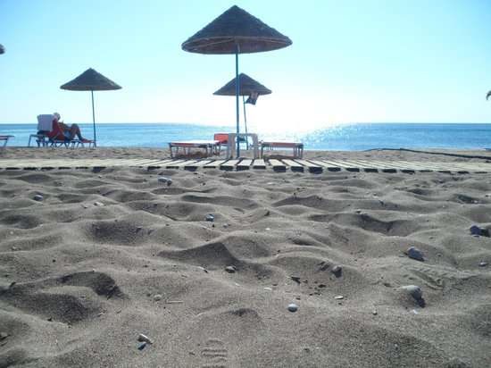 Pegasos Deluxe Beach Hotel : Strand