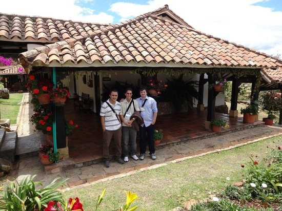 Hospederia Duruelo: Área interna do hotel