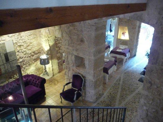 Hotel Ca'n Pere : vista desde la escalera a las habitaciones