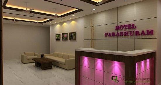 Hotel Parshuram: receipton