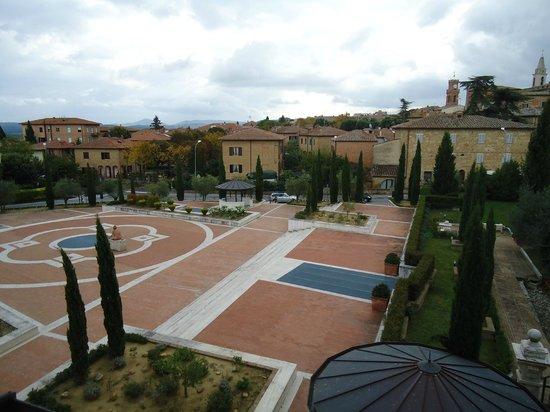 Hotel Residence San Gregorio: VISTA CAMERA