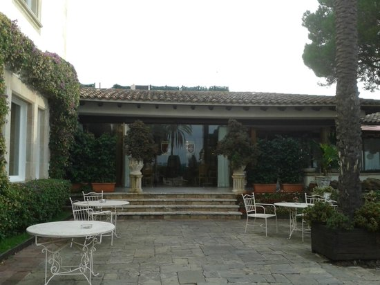 Hotel Roger de Flor Palace: terraza