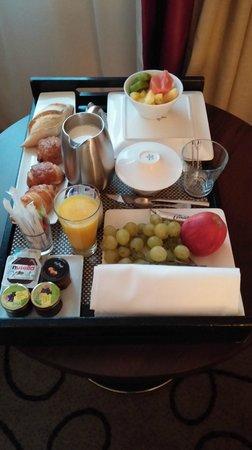 Pullman Montpellier Centre : Petit déjeuner 23 euros