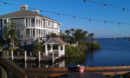 Boatyard Waterfront Bar and Grill: View from table