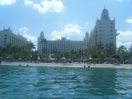 Hotel Riu Palace Aruba: From the sea
