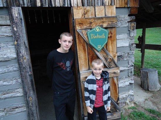 Old Bardstown Village Civil War Museum: The old Blacksmith