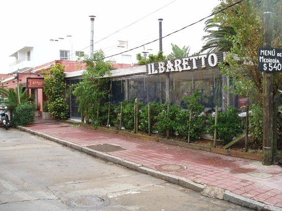 Il Baretto: La façade principale