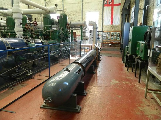 Scapa Flow Visitor Centre and Museum: torpedo