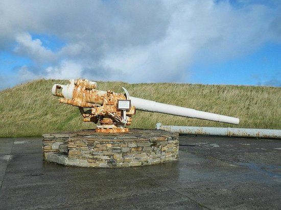 Scapa Flow Visitor Centre and Museum: gun