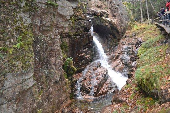 Franconia Notch State Park: flume