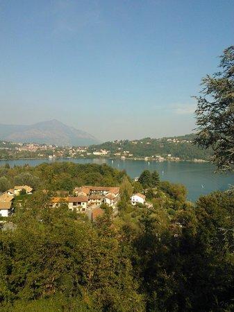 Hotel Ristorante Hermitage: panorama dalla terrazza, hermitage